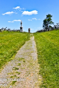 Sunken Road at Antietam National Battlefield
