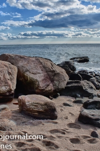 Beach Rocks at Hammonasset Beach State Park