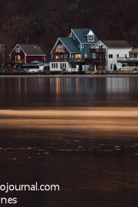 Houses along the Housatonic