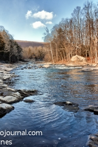 Housatonic River below Bull's Bridge