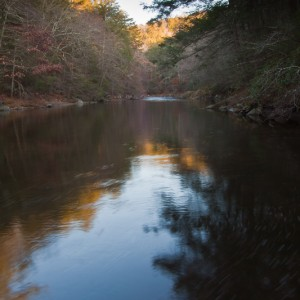 Shepaug River in Steep Rock Reservation