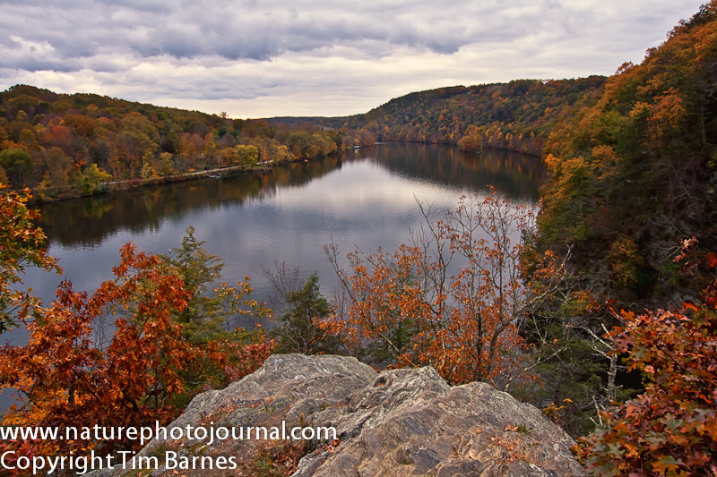View of Lake Lillinonah as seen from Lover's Leap State Park