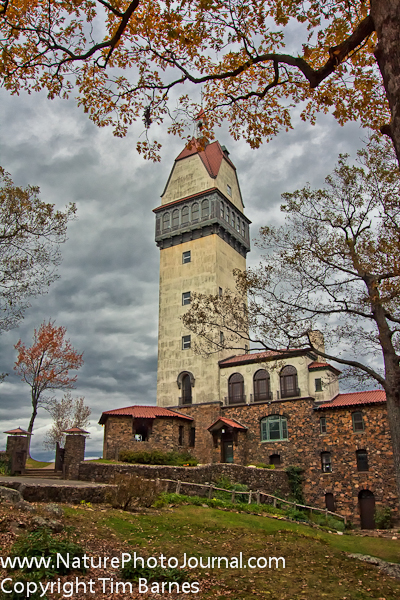 Heublein Tower at Talcott Mountain State Park