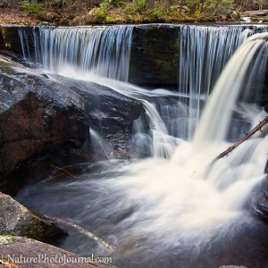 Falls in Enders State Forest