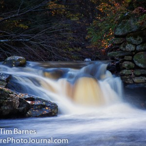 Far Mill River Waterfall