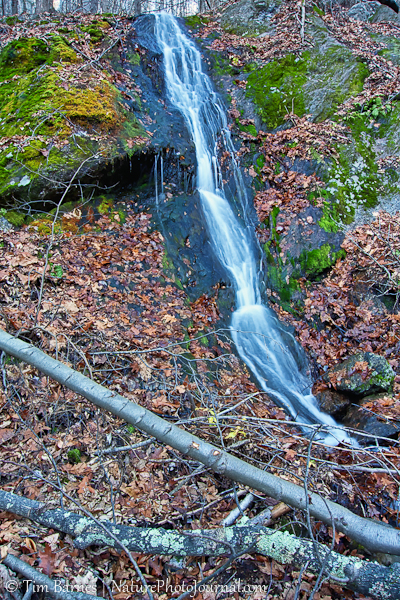 Small Waterfall in the Naugatuck State Forest