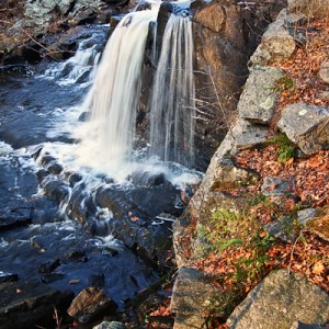 Waterfall at Southford Falls State Park